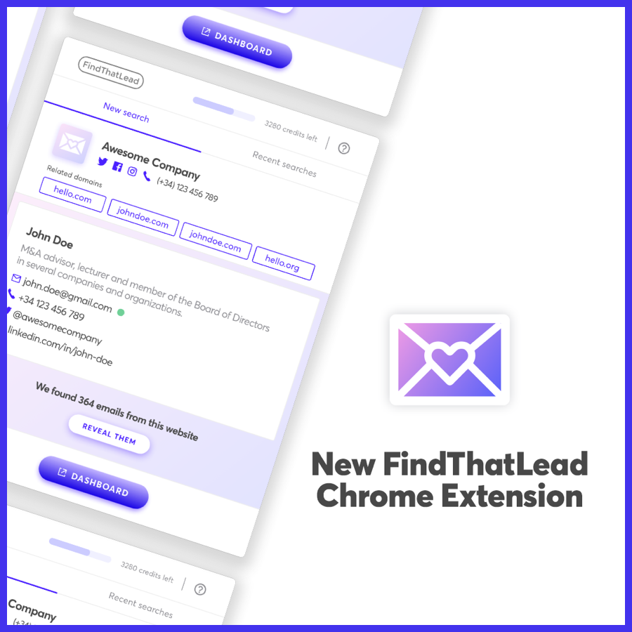 FindThatLead Chrome Extension